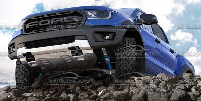 Phuộc độ Ford Ranger giúp giảm xóc êm ái hơn cho xe bán tải