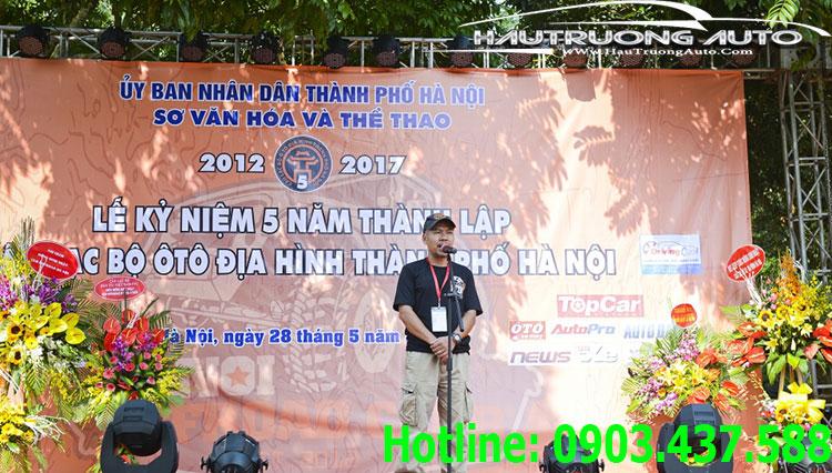 Hậu Trương Auto đồng hành cùng sự kiện sinh nhật 5 năm CLB Offroad Hà Nội