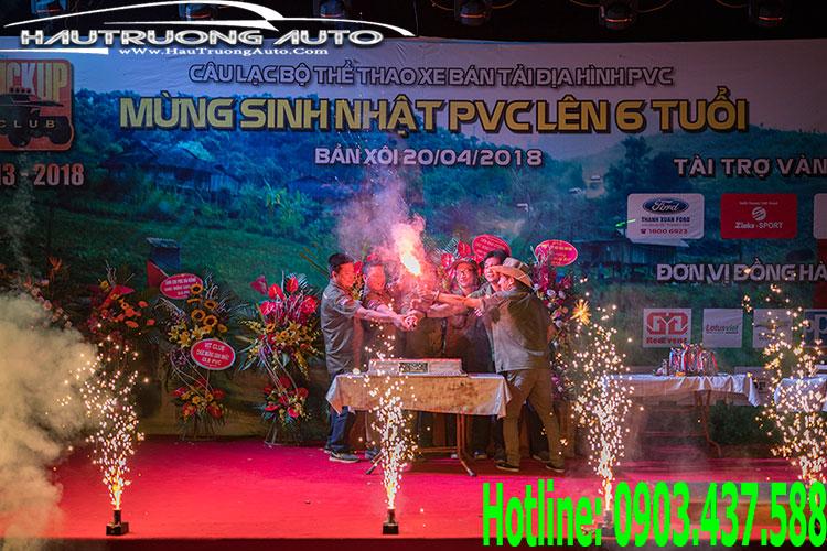 Hậu Trương Auto đồng hành cùng sự kiện Offroad mừng CLB PVC lên 6 tuổi