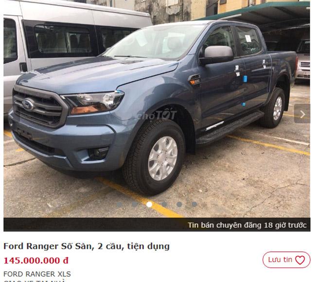 Xe bán tải cũ giá dưới 200 triệu và những kinh nghiệm chọn mua xe