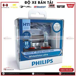 Bóng đèn H8 Philips WhiteVision cường độ cao