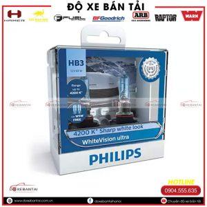 Bóng đèn HB3 Philips WhiteVision cường độ cao