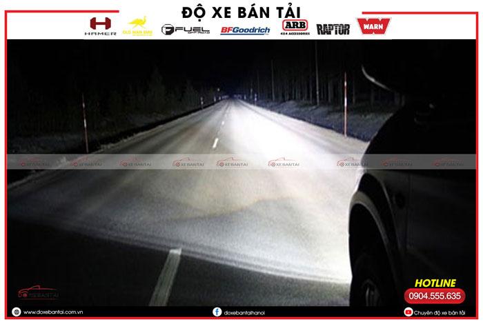 Tư vấn lắp đặt bóng đèn pha ô tô siêu sáng