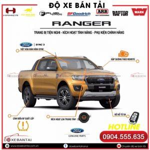 Những options mới trên Ford Ranger Wildtrak