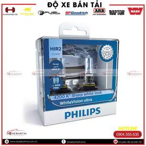 Bộ bóng đèn HIR2 Philips WhiteVision cường độ cao