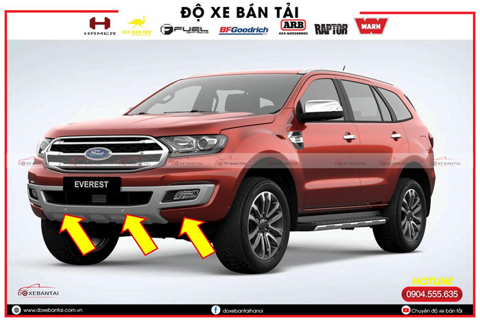 option-moi-tren-ford-everest-cam-bien-truoc