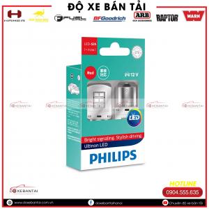 Bóng đèn BA15s, P21W Philips Ultinon LED cường độ cao