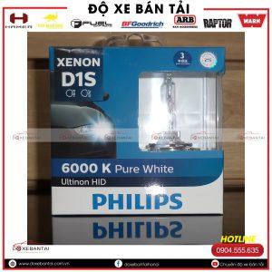 Bóng đèn D1S Philips Ultinon HID cường độ cao
