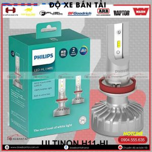 Bóng đèn H11 Philips Ultinon LED cường độ cao