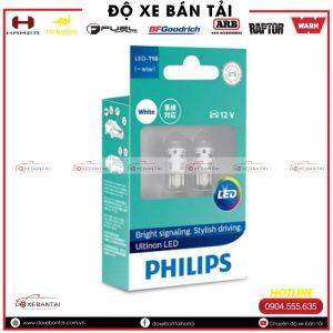 Bóng đèn LED – T10 [~W5W] Philips Ultinon cường độ cao