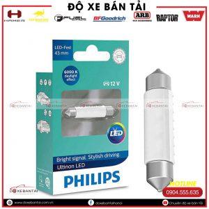 Bóng đèn SV8,5 Philips Ultinon LED cường độ cao