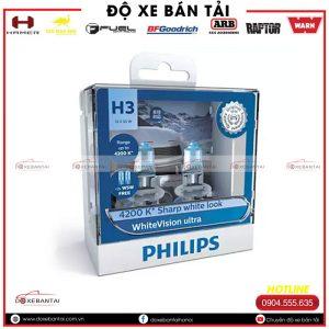 Bóng đèn H3 Philips WhiteVision cường độ cao