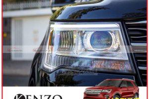 Các hình thức độ đèn xe Ford Explorer mới nhất