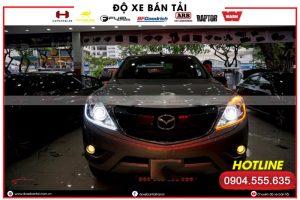 Độ đèn led mí xe Mazda BT50 – gia tăng phong cách thời thượng