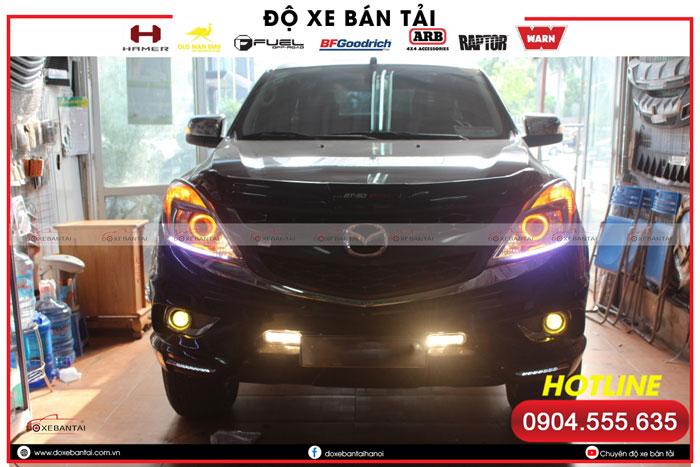 Độ đèn xe Mazda BT50 và những điều bạn cần biết