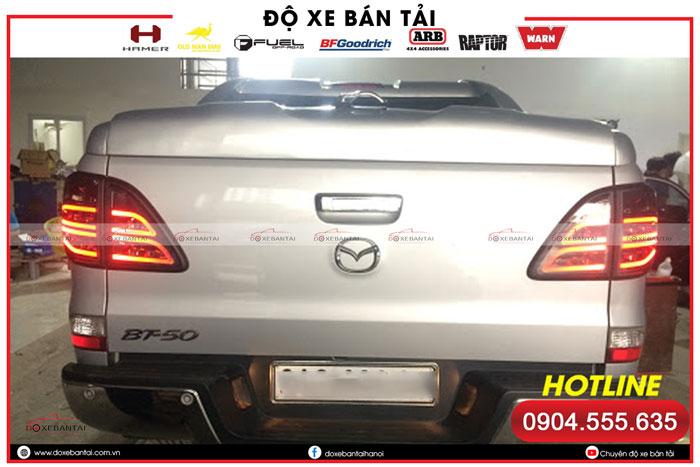 Độ đèn xe Mazda BT50 Standard – giải pháp cho vấn đề tăng sáng