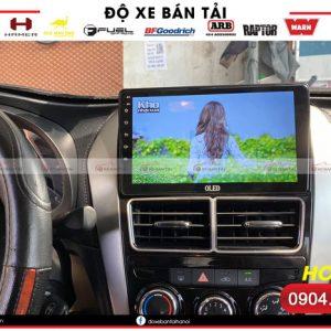 Đánh giá màn hình android cho xe Vios chính hãng