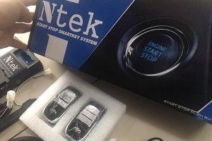 Chìa khóa thông minh ô tô Ntek mang lại nhiều tiện ích cho ô tô của bạn