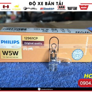 Bóng đèn Philips Premium Vision W5W chính hãng