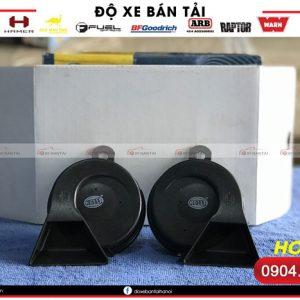 Bộ sản phẩm còi sên Hella cho xe ô tô phiên bản màu đen
