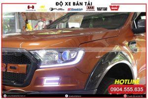 Đèn LED mí xe Ford Ranger – điểm nhấn cho phong cách xe