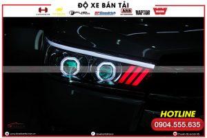 Độ đèn LED mí xe Mitsubishi Triton và những lợi ích mang lại