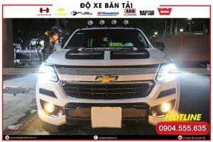 Độ đèn xe Chevrolet Colorado – giải pháp nâng cấp khả năng chiếu sáng