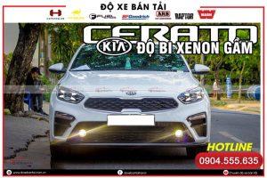 Độ đèn xe Kia Cerato/Kia K3 đẹp và sáng nhất hiện nay