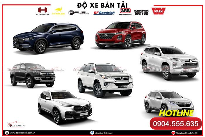 Top các xe 7 chỗ gầm cao tốt nhất đang bán chính hãng tại Việt Nam