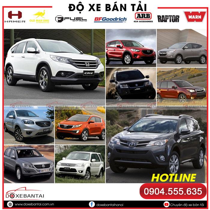 Lựa chọn xe ô tô 5 chỗ gầm cao giá rẻ đáng mua nhất hiện nay
