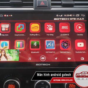 Màn hình android Gotech GT8 max – Đột phá công nghệ màn hình