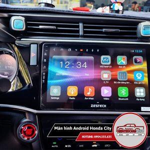 Màn hình Android cho xe Honda City mới nhất năm 2021